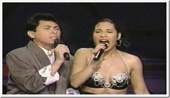 Selena & Álvaro Torres - Buenos amigos