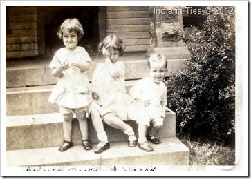 Weber children 1931