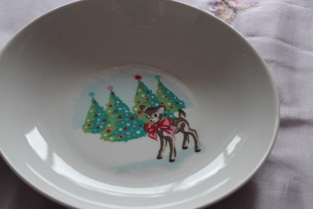 cath kidston deer plate