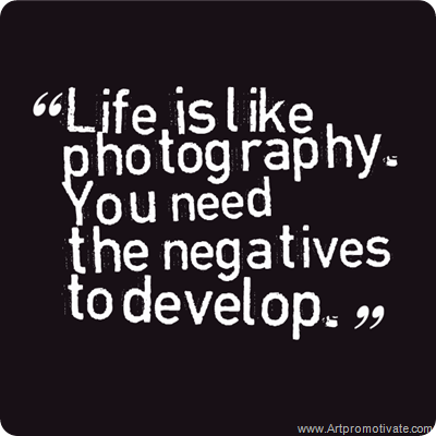 life photography quote