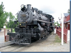 0961 Alberta Calgary - Heritage Park Historical Village - steam train