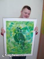In 2007 worden de kunstwerken van de P-leerlingen o.a. geëxposeerd in het ziekenhuis te Hardenberg (1)
