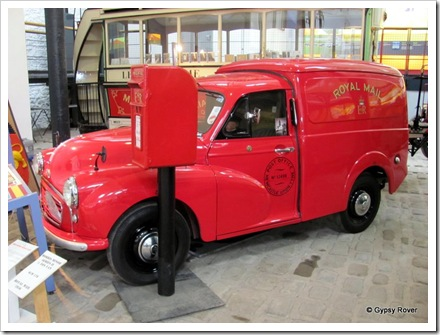 Post Office 1955 Morris Minor van. One of only 8 ever built.