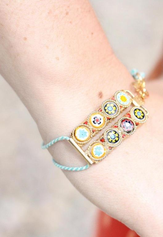 Vintage Mosaic Bracelet, £15, Bohemian Rose Vintage