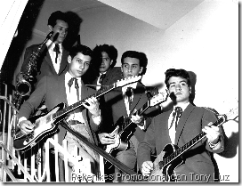 1960 Pekenikes Promocional con tony Luz
