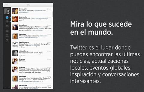 Twitter para Mac OS X