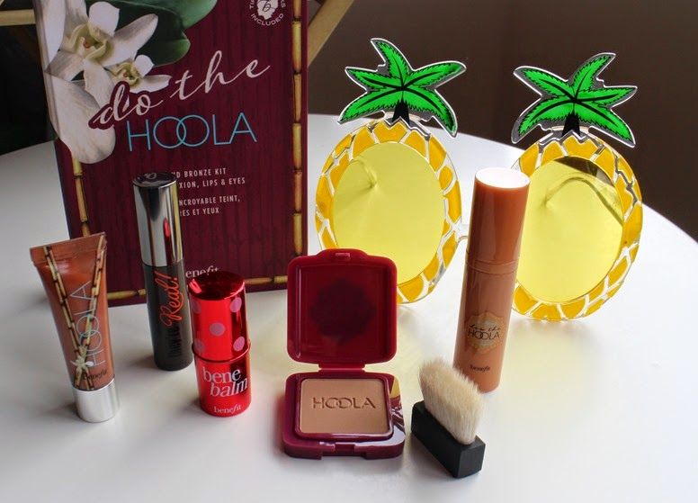 Benefit-Do-the-Hoola-set-contents-QVC