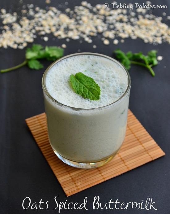 Oats Spiced Buttermilk Recipe