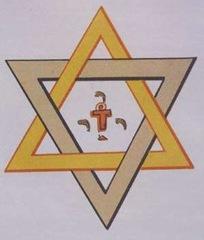 pirâmide maçônica estrela de Davi - Priscila e Maxwell Palheta