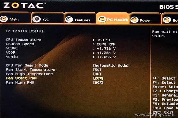 BIOS ZOTAC ZBOX NANO ID68