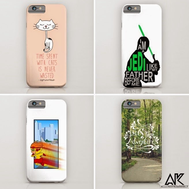 iPhone 6 and 6 Plus Cases from August Decorous via allonsykimberly.com