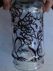 Borcan handmade cu neuroni
