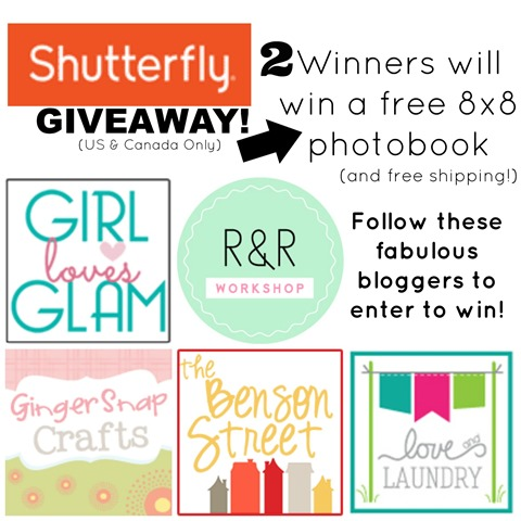 shutterfly giveaway