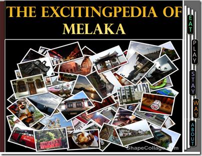 Homepage of Melaka