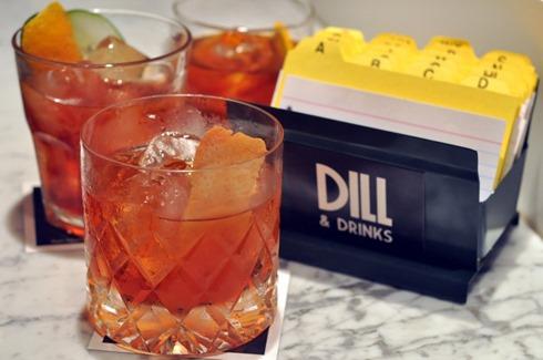 Negronis Dill & Drinksbaja