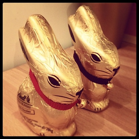 #97 - Lindt Easter bunnies
