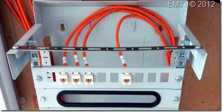 Detalle del panel de conexi�n  CPT en el RITI