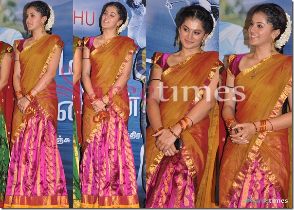Taapsee_Traditional_Half_Saree