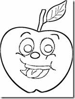 mascara de manzana 1
