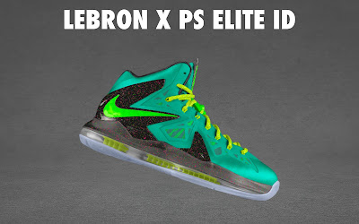 nike lebron 10 ps elite id options preview 1 07 NIKE LEBRON X PS ELITE Coming to Nike iD on April 23rd