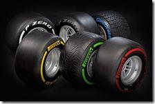 Gomme Pirelli 2012