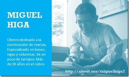 Miguel Higa - Constructor de Marcas
