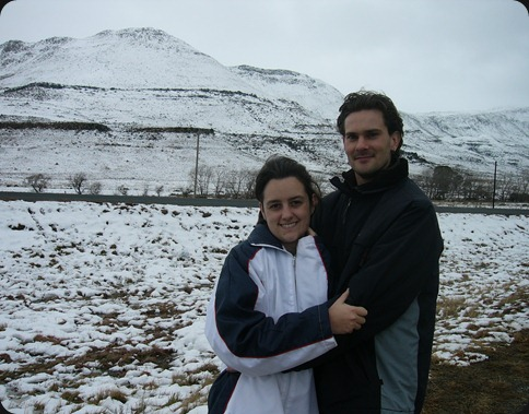 Ashleigh Langhein and Mark Letley, Eastern Cape Snow 2012, Road from Queenstown to Sterkstroom