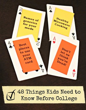 48 Things Kids Need to Know Before College