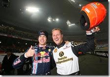 Vettel e Schumacher alla Race of the Champions