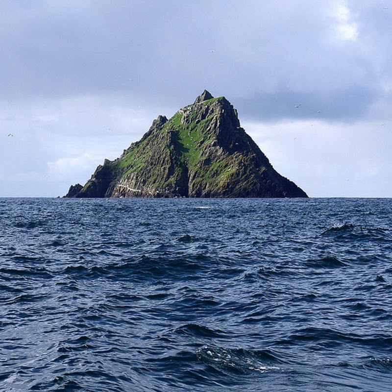 Skellig Michael and the Ancient Monastery in the Middle of the Ocean
