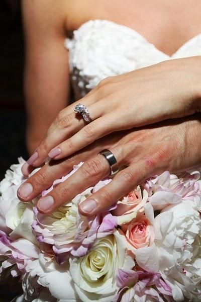 NH Seacoast Wedding | Blush Pink Wedding Bouquet | Ideas in Bloom