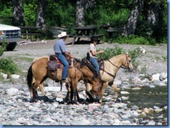 1307 Alberta Red Rock Parkway - Waterton Lakes National Park - horseback riders