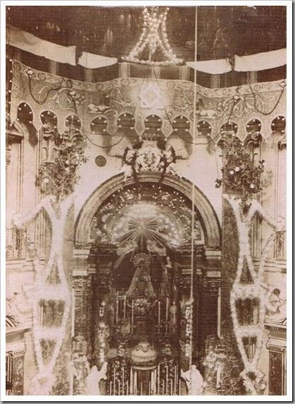 Camarín de la Virgen, ca. 1907