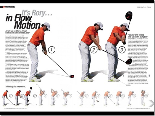 Rory McIlroy Slow Motion Swing Vision