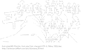 [AA]Heiwajima Shizuo (Durarara!!)
