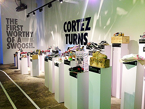 Nike Cortez 40th anniversary innovation design showcase plus space iconic by 40 Southeast Asia artists, designers and personalities Singapore, Malaysia, Indonesia, Thailand Philippines Mens Women shoes  popup stores