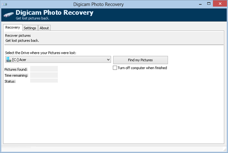 Digicam Photo Recovery Software