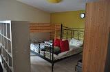 """Dormitori (de fet al mateix lloc que la resta) Bed""""room"""" (actually not a real room)"""
