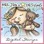 Meljen's designs logo