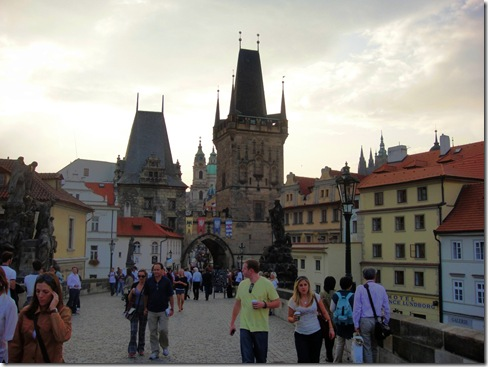 Walking Charles Bridge