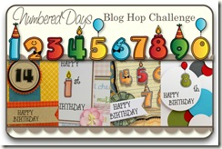 Numbered Days Blog Hop Challenge