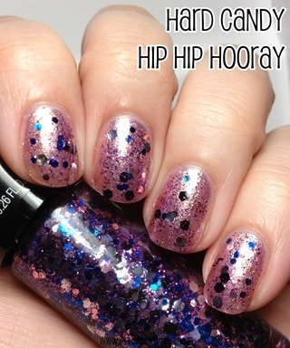 Hard Candy Hip Hip Hooray over Lil Lilac
