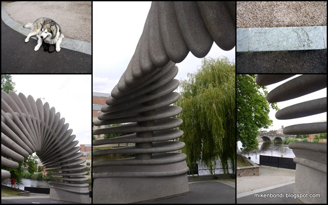 Quantum Leap, Shrewsbury's Darwin Memorial