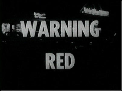 Warning Red Titile