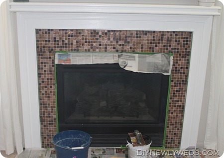 DIY Fireplace Tile