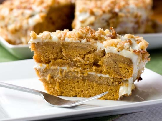 5pumpkin crunch cake