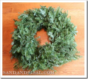 fresh fir wreath