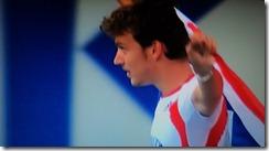 Christophe Lemaitre, médaille de Bronze 200m championnats du Monde 2011