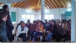 Se realizó un nuevo encuentro para tratar problemáticas de los jóvenes