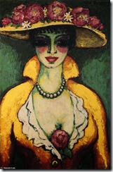Kees-Van-Dongen-Woman-with-Flowered-Hat